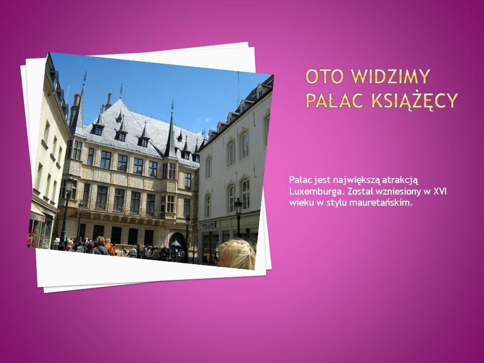 Oto widzimy pałac książęcy