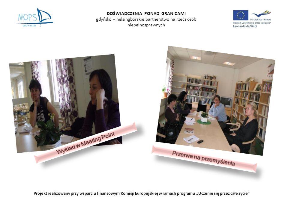 MEETING POINT Cele, zadania Personel, praca