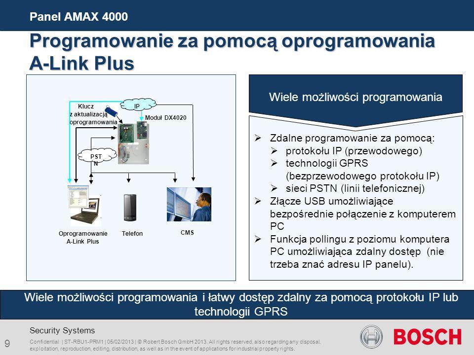 Oprogramowanie A-Link Plus