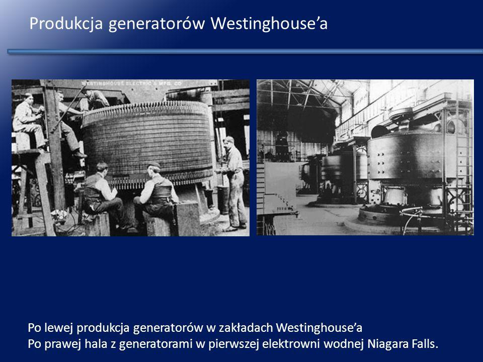 Produkcja generatorów Westinghouse'a