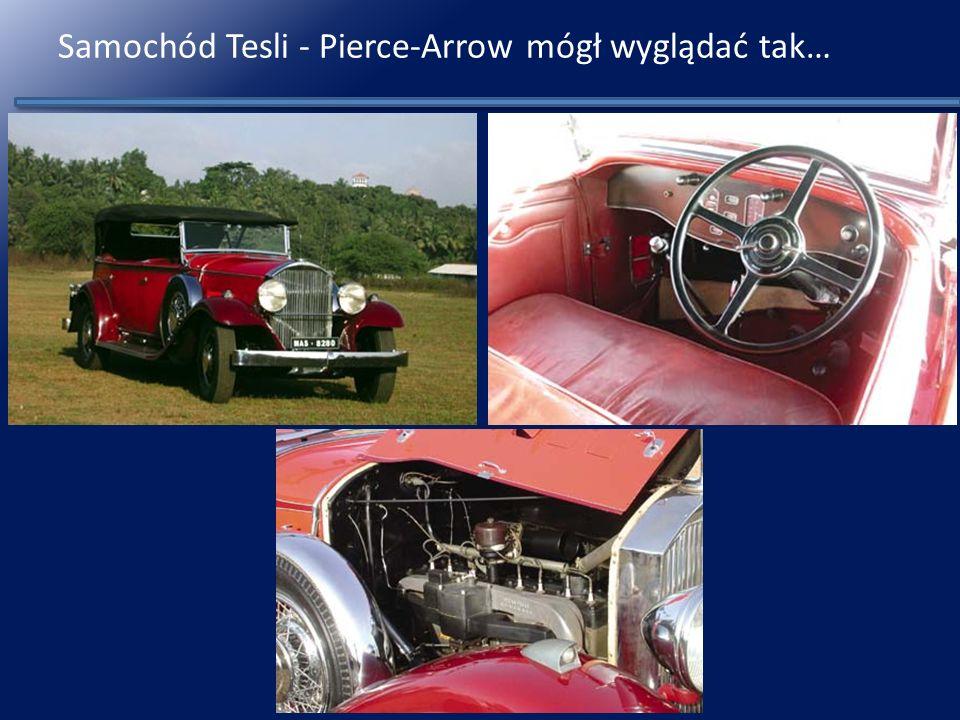 Samochód Tesli - Pierce-Arrow mógł wyglądać tak…