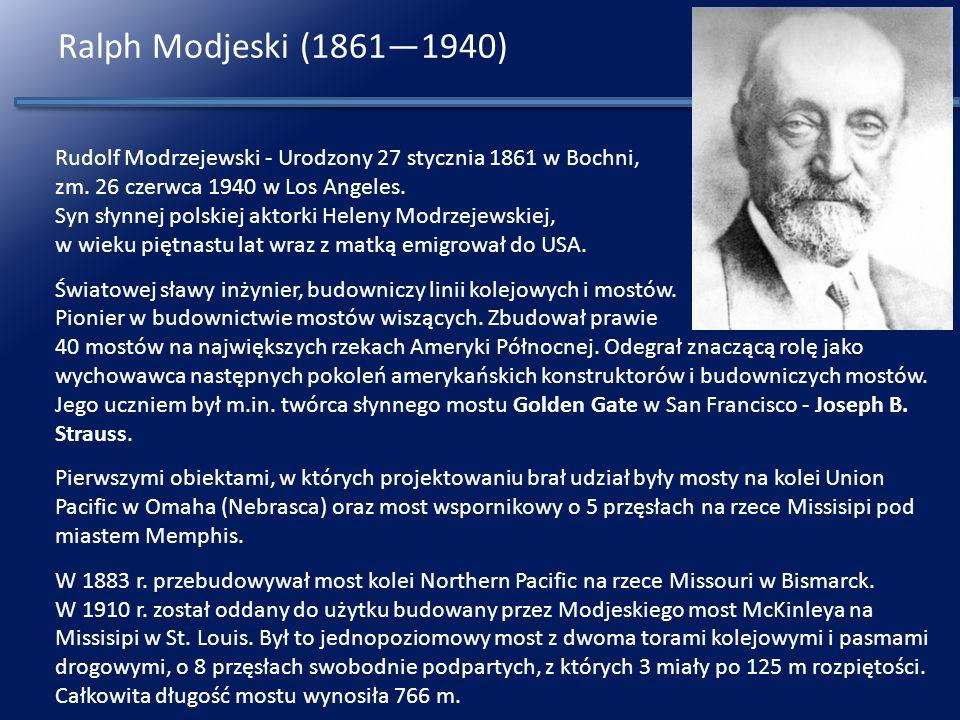Ralph Modjeski (1861—1940)
