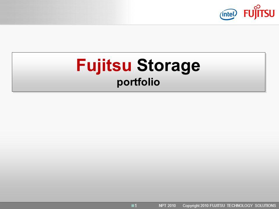 Fujitsu Storage portfolio
