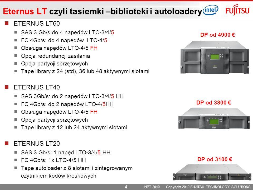 Eternus LT czyli tasiemki –biblioteki i autoloadery
