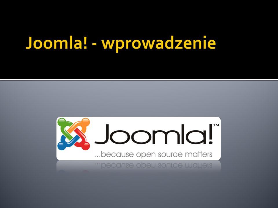 Joomla! - wprowadzenie