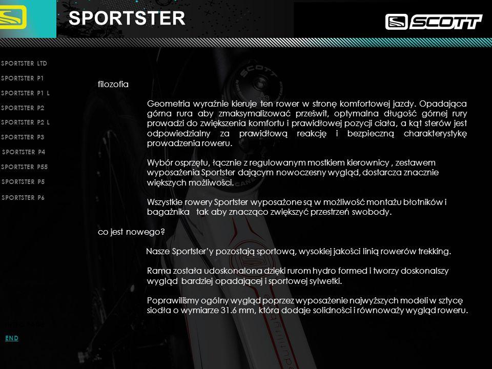 SPORTSTER SPORTSTER LTD. SPORTSTER P1. filozofia.