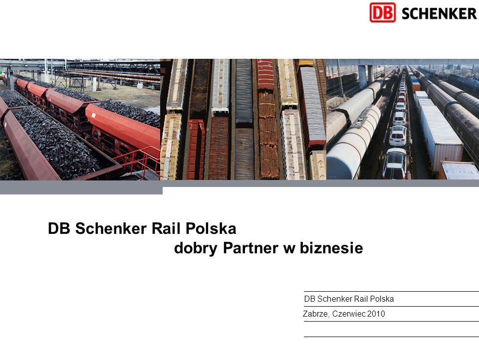 DB Schenker Rail Polska dobry Partner w biznesie