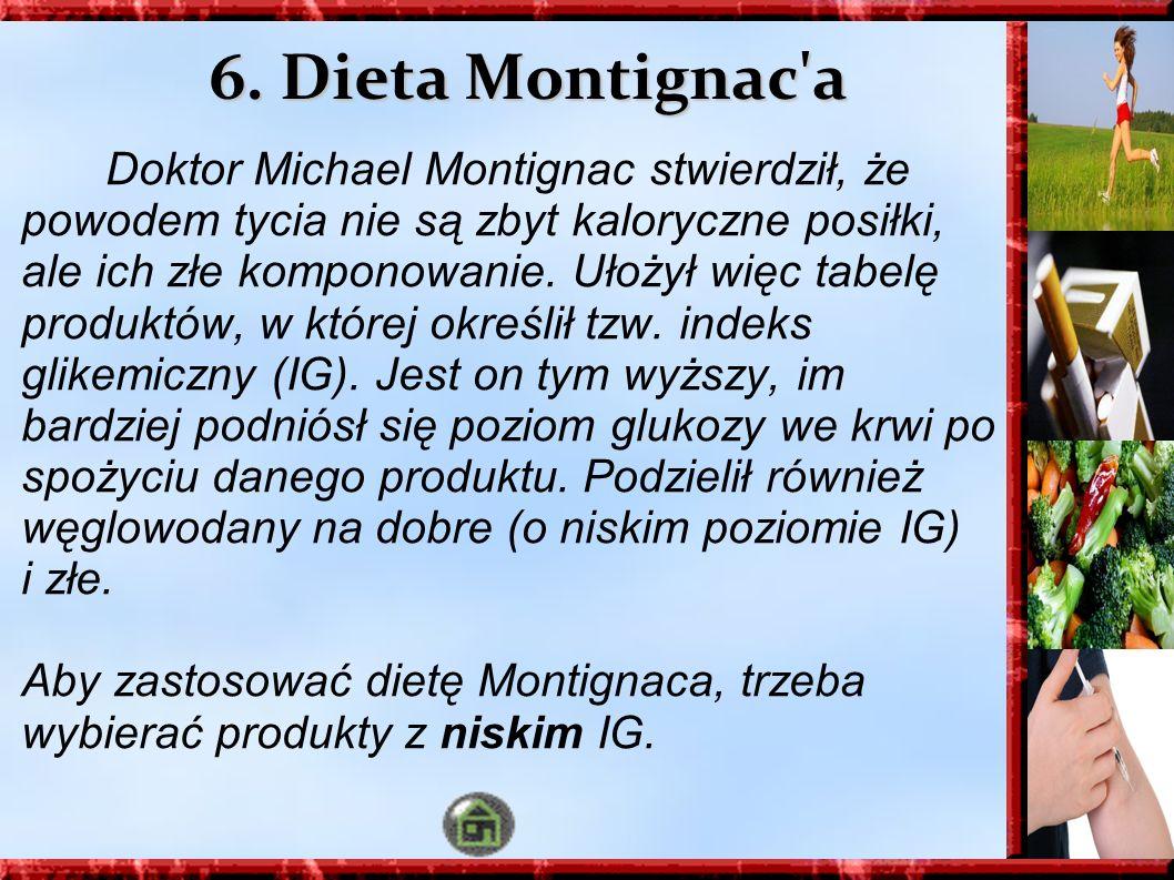 6. Dieta Montignac a