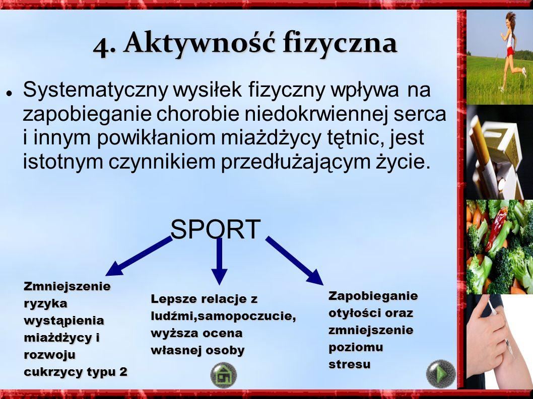 4. Aktywność fizyczna SPORT