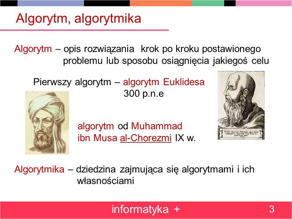 Algorytm, algorytmika algorytm od Muhammad informatyka +