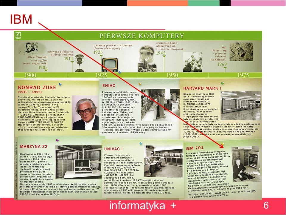 IBM informatyka +