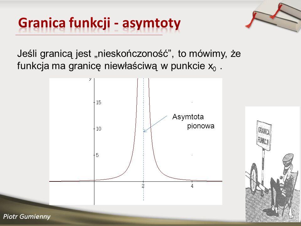 Granica funkcji - asymtoty