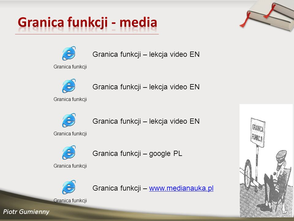 Granica funkcji - media