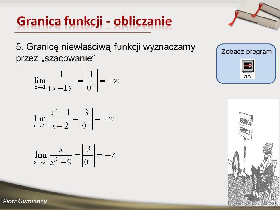Granica funkcji - obliczanie