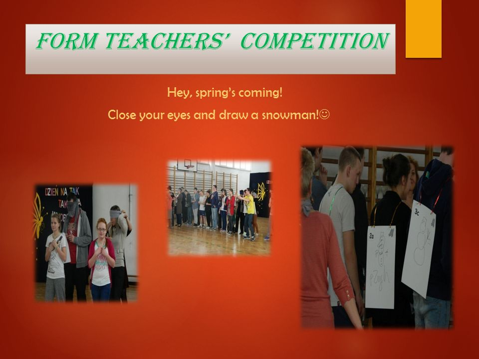 Form teachers' competition