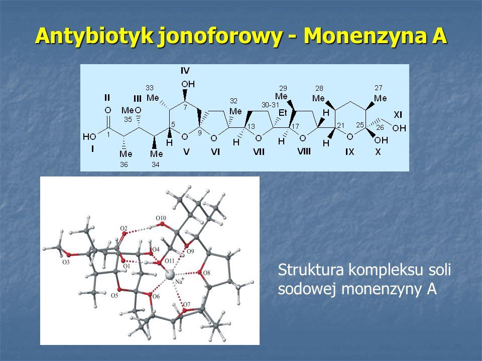 Antybiotyk jonoforowy - Monenzyna A