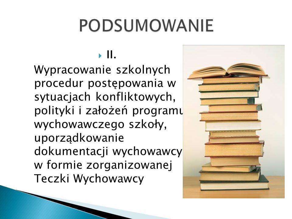 PODSUMOWANIE II.