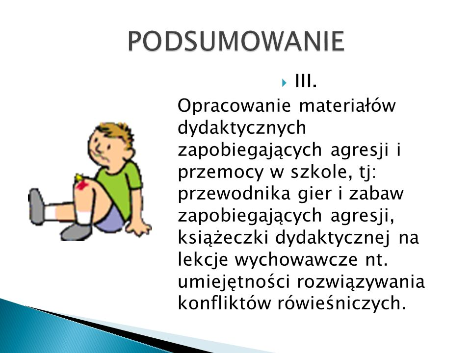 PODSUMOWANIE III.