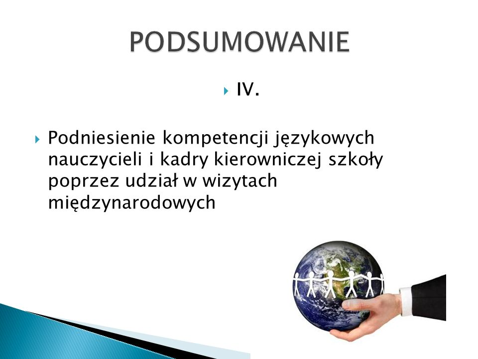 PODSUMOWANIE IV.