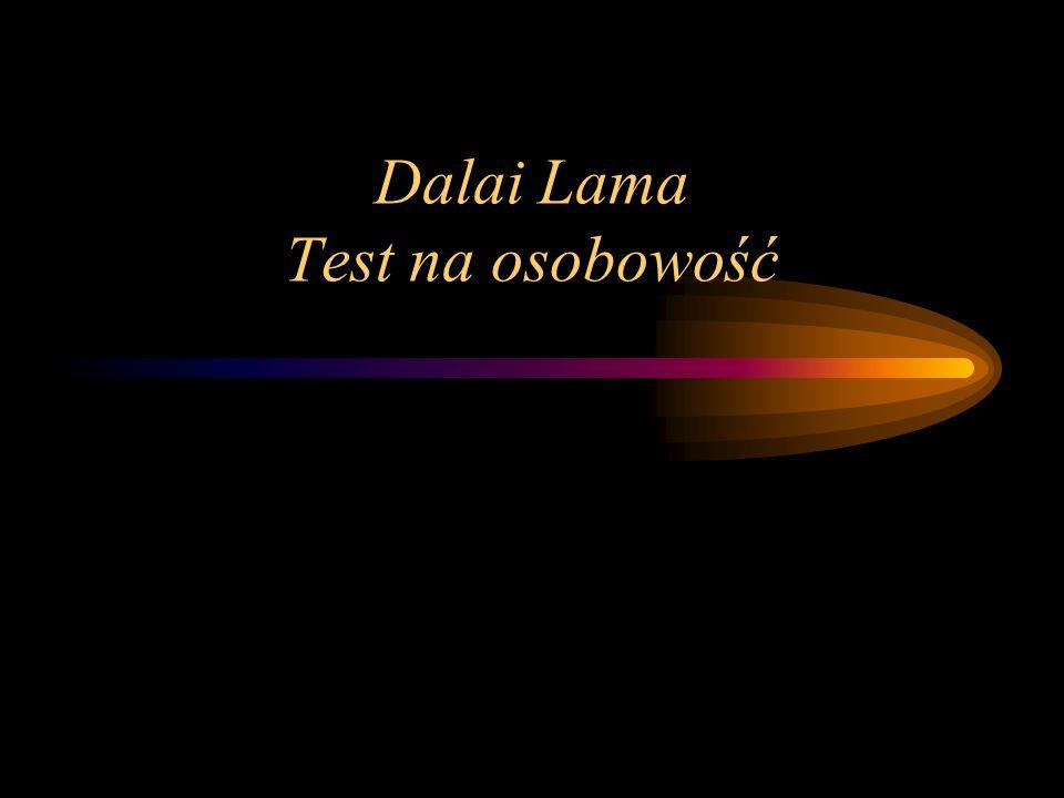 Dalai Lama Test na osobowość