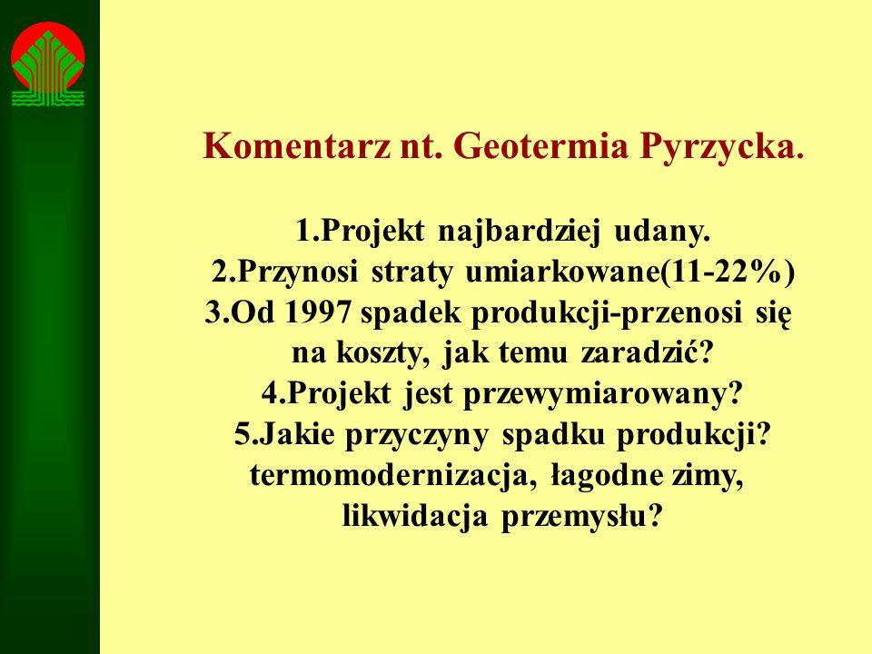 Komentarz nt. Geotermia Pyrzycka.