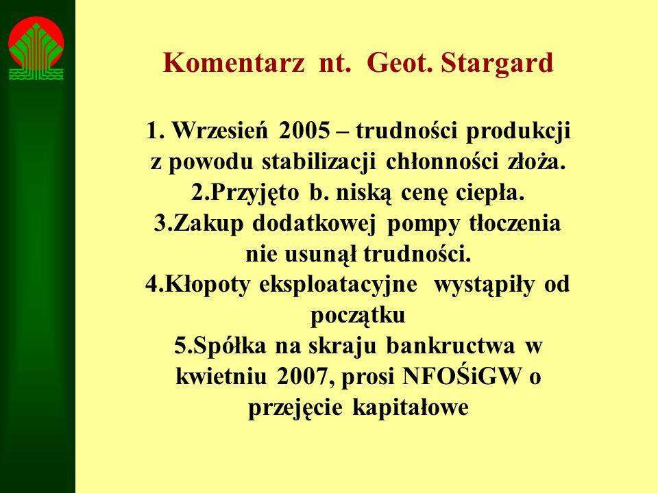 Komentarz nt. Geot. Stargard