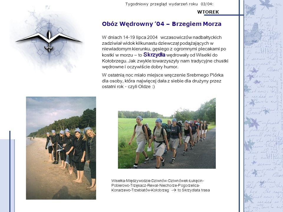 Obóz Wędrowny '04 – Brzegiem Morza