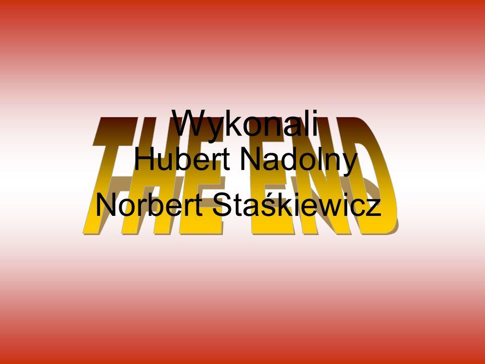 Wykonali THE END Hubert Nadolny Norbert Staśkiewicz