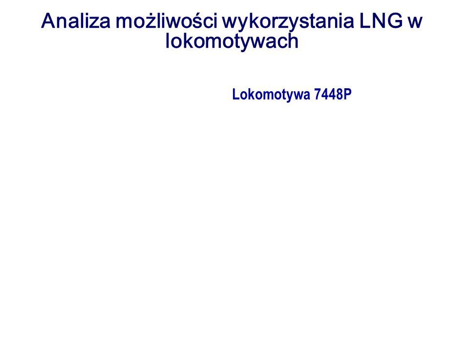 Analiza możliwości wykorzystania LNG w lokomotywach