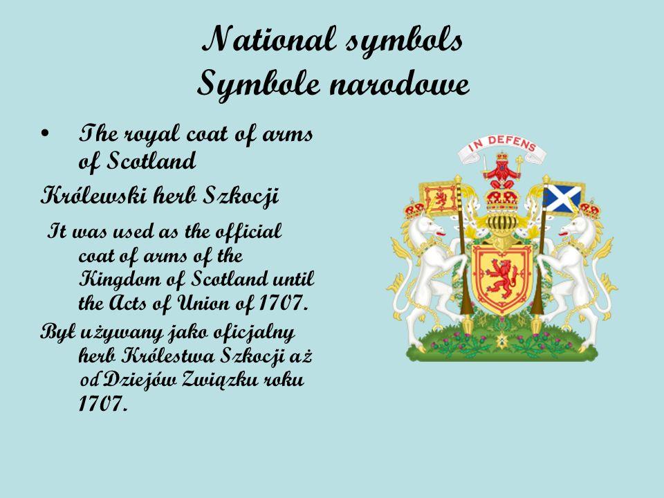 National symbols Symbole narodowe