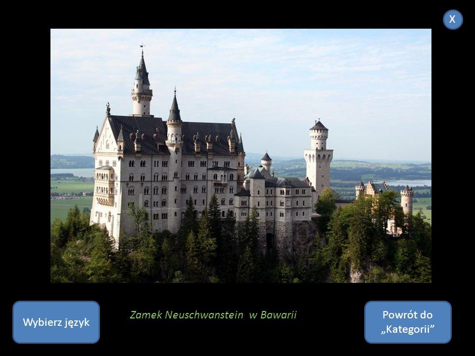 """X Wybierz język Powrót do """"Kategorii Zamek Neuschwanstein w Bawarii"""