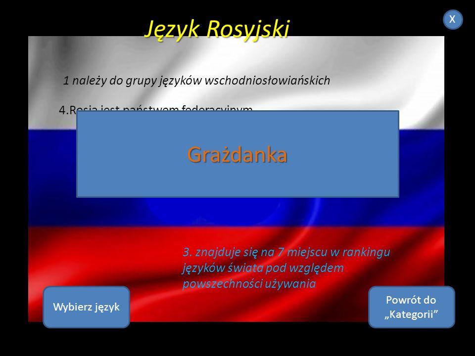 Język Rosyjski Grażdanka