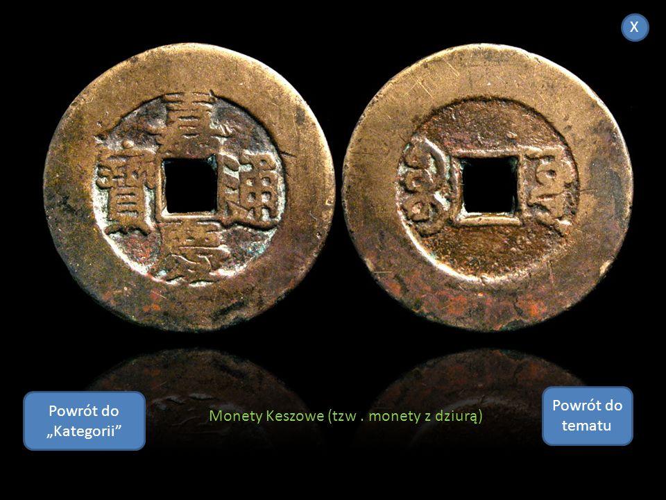 """X Powrót do tematu Powrót do """"Kategorii Monety Keszowe (tzw . monety z dziurą)"""