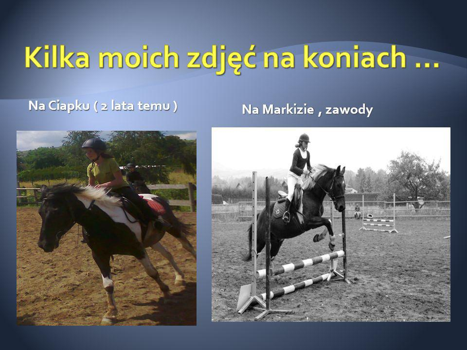 Kilka moich zdjęć na koniach …