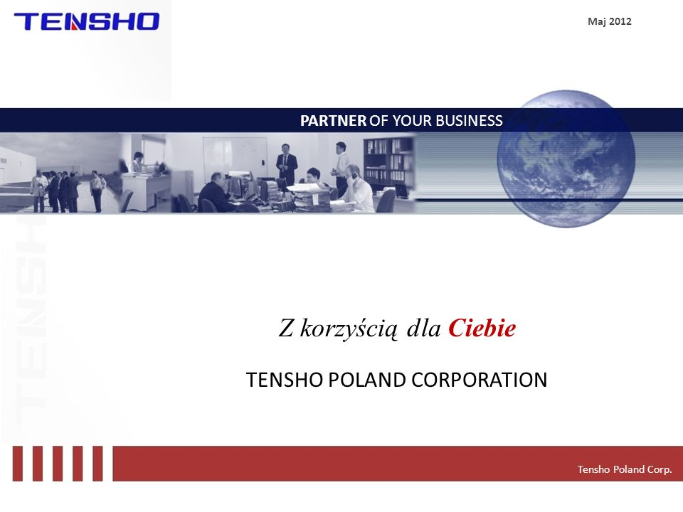 TENSHO POLAND CORPORATION