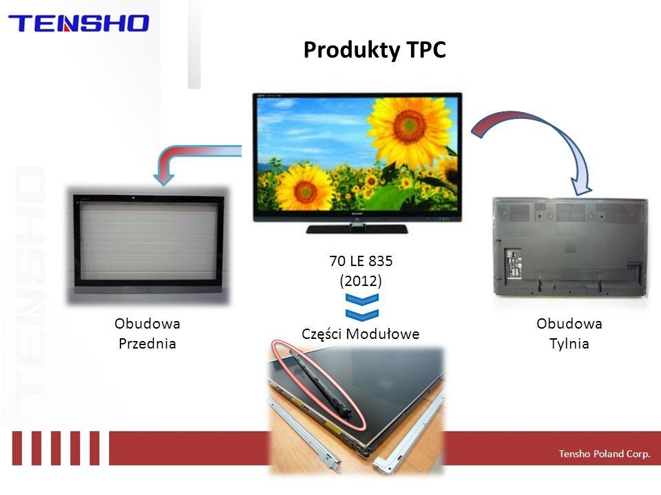 Produkty TPC Application - LCD TVs 70 LE 835 (2012) Obudowa Przednia