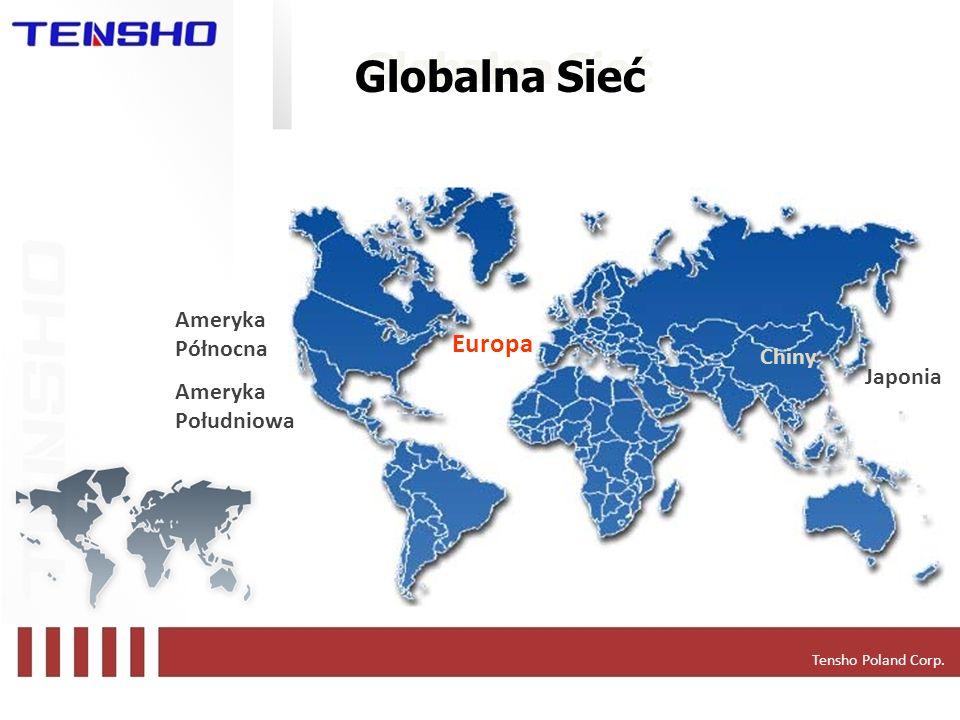 Globalna Sieć Europa Ameryka Północna Ameryka Południowa Chiny Japonia