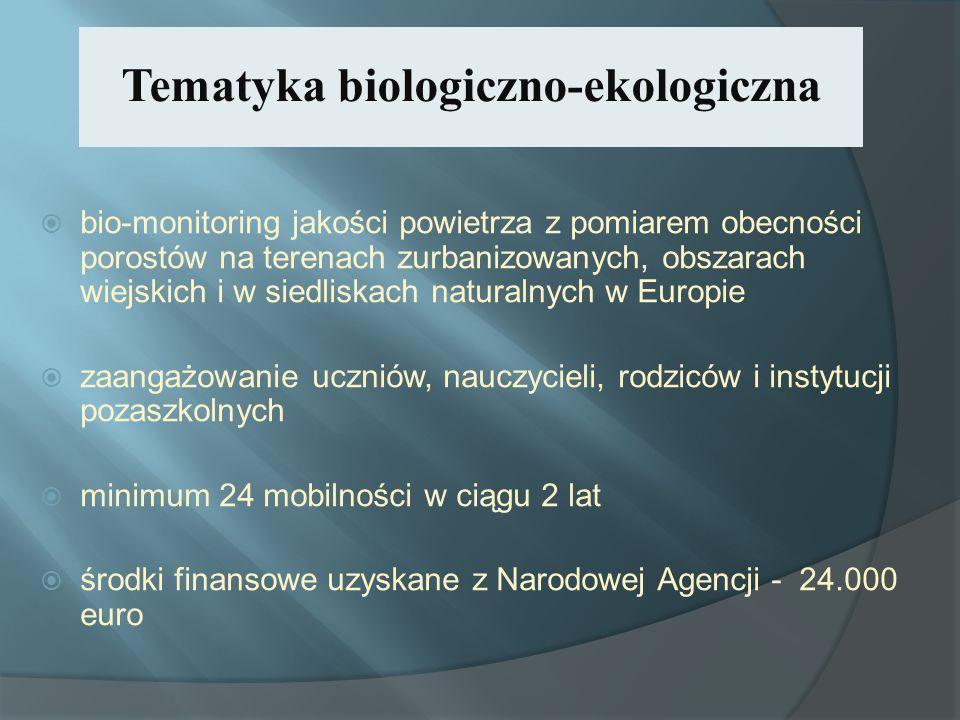 Tematyka biologiczno-ekologiczna