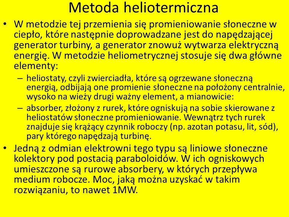 Metoda heliotermiczna