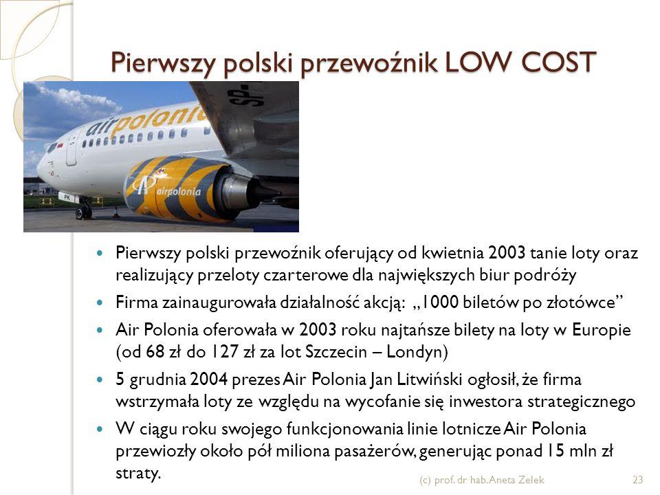 Pierwszy polski przewoźnik LOW COST