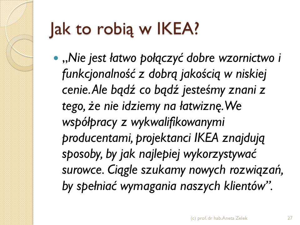 Jak to robią w IKEA