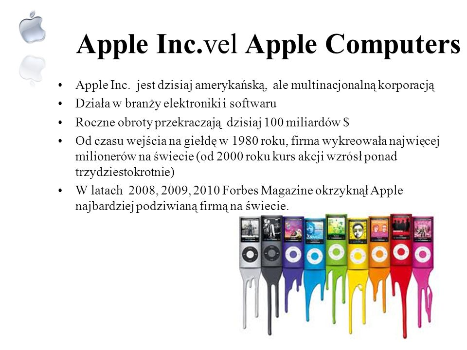 Apple Inc.vel Apple Computers