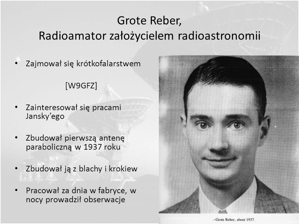 Grote Reber, Radioamator założycielem radioastronomii
