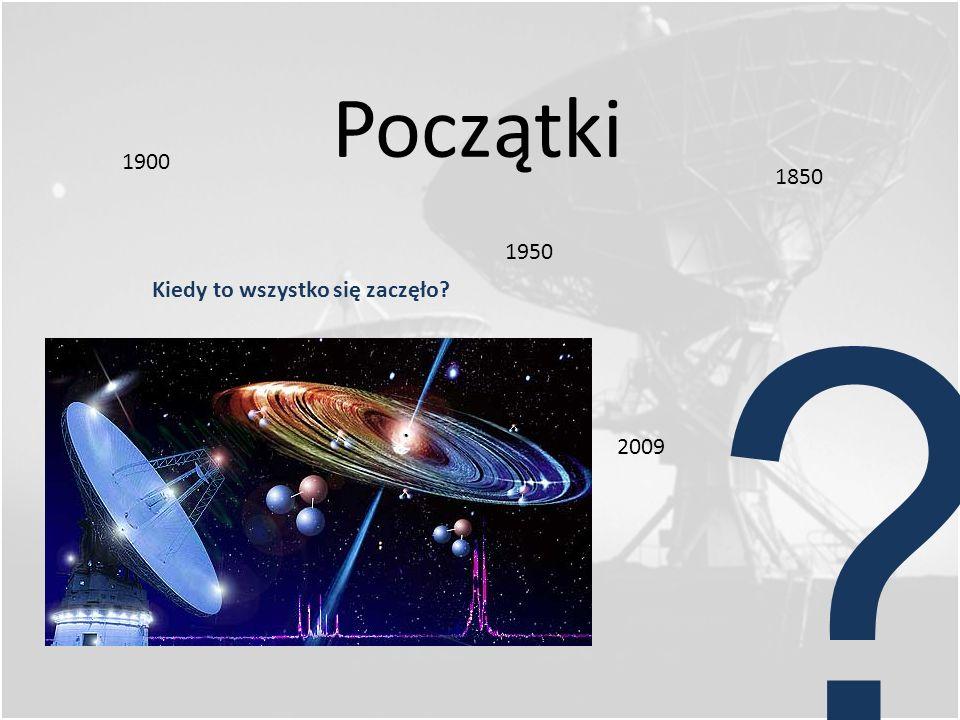 Początki 1900 1850 1950 Kiedy to wszystko się zaczęło 2009