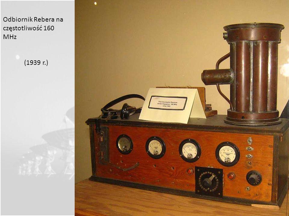 Odbiornik Rebera na częstotliwość 160 MHz
