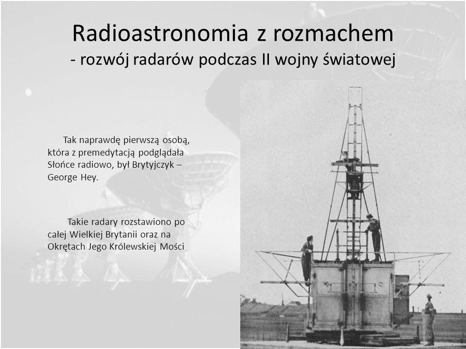 Radioastronomia z rozmachem - rozwój radarów podczas II wojny światowej