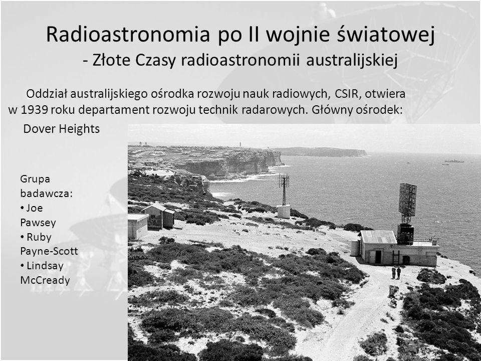 Radioastronomia po II wojnie światowej - Złote Czasy radioastronomii australijskiej