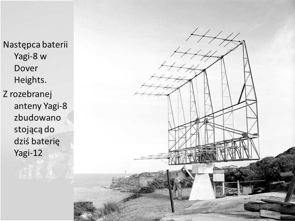 Następca baterii Yagi-8 w Dover Heights