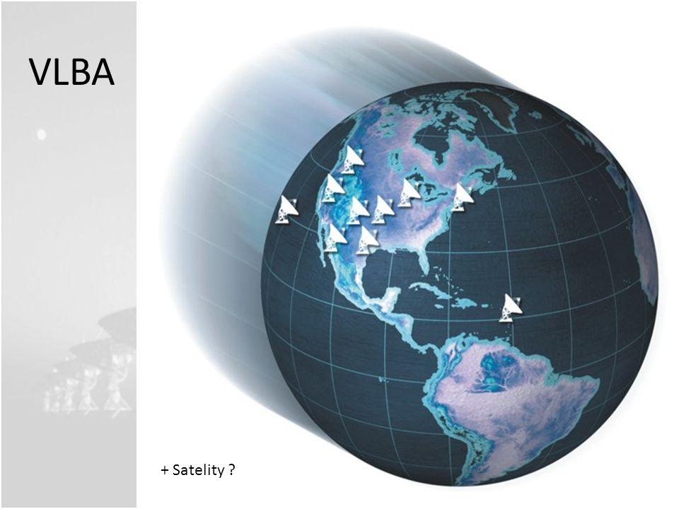 VLBA + Satelity