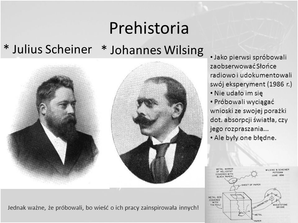 Prehistoria * Julius Scheiner * Johannes Wilsing
